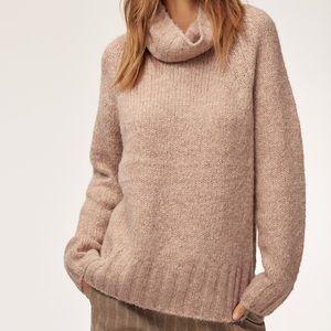 Aritzia Babaton Plutarch Turtleneck Sweater